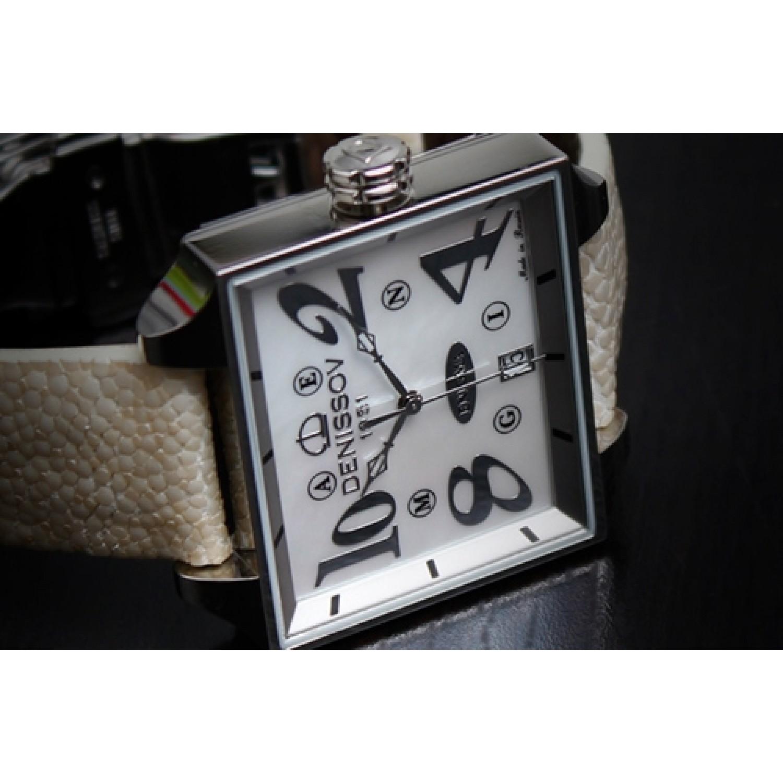 """955.112.4027.4.S.582 российские женские кварцевые наручные часы Денисов """"ENIGMA""""  955.112.4027.4.S.582"""