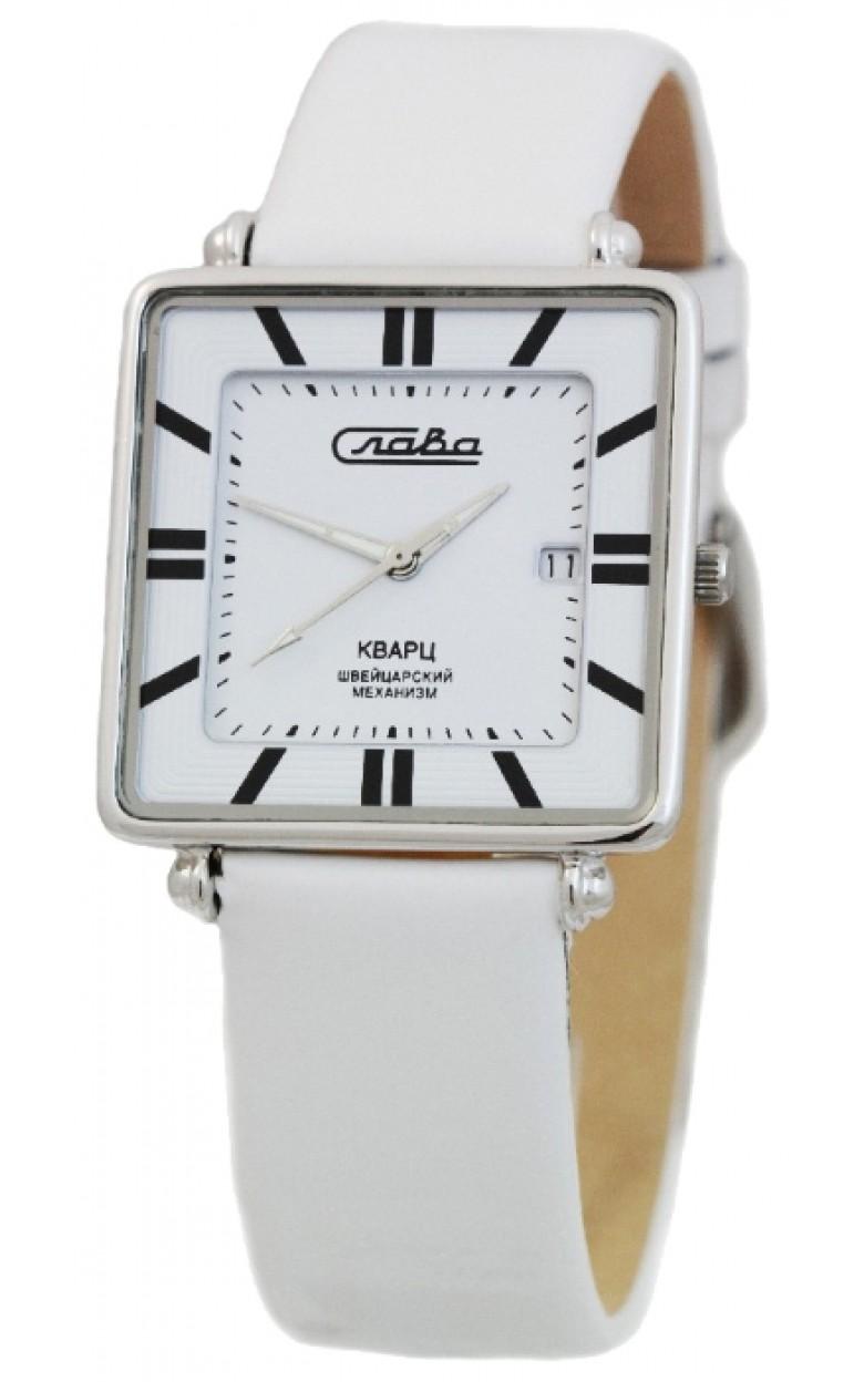 С4742056/705-16,19 российские серебрянные кварцевые наручные часы Слава