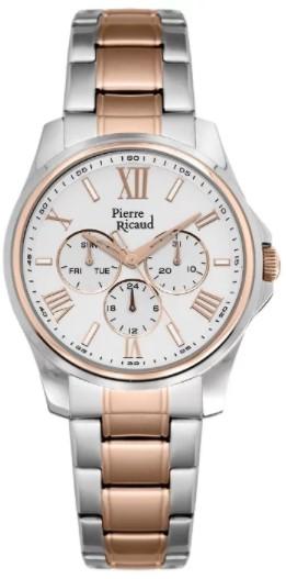 """P21090.R163QF  кварцевые часы Pierre Ricaud """"Bracelet""""  P21090.R163QF"""