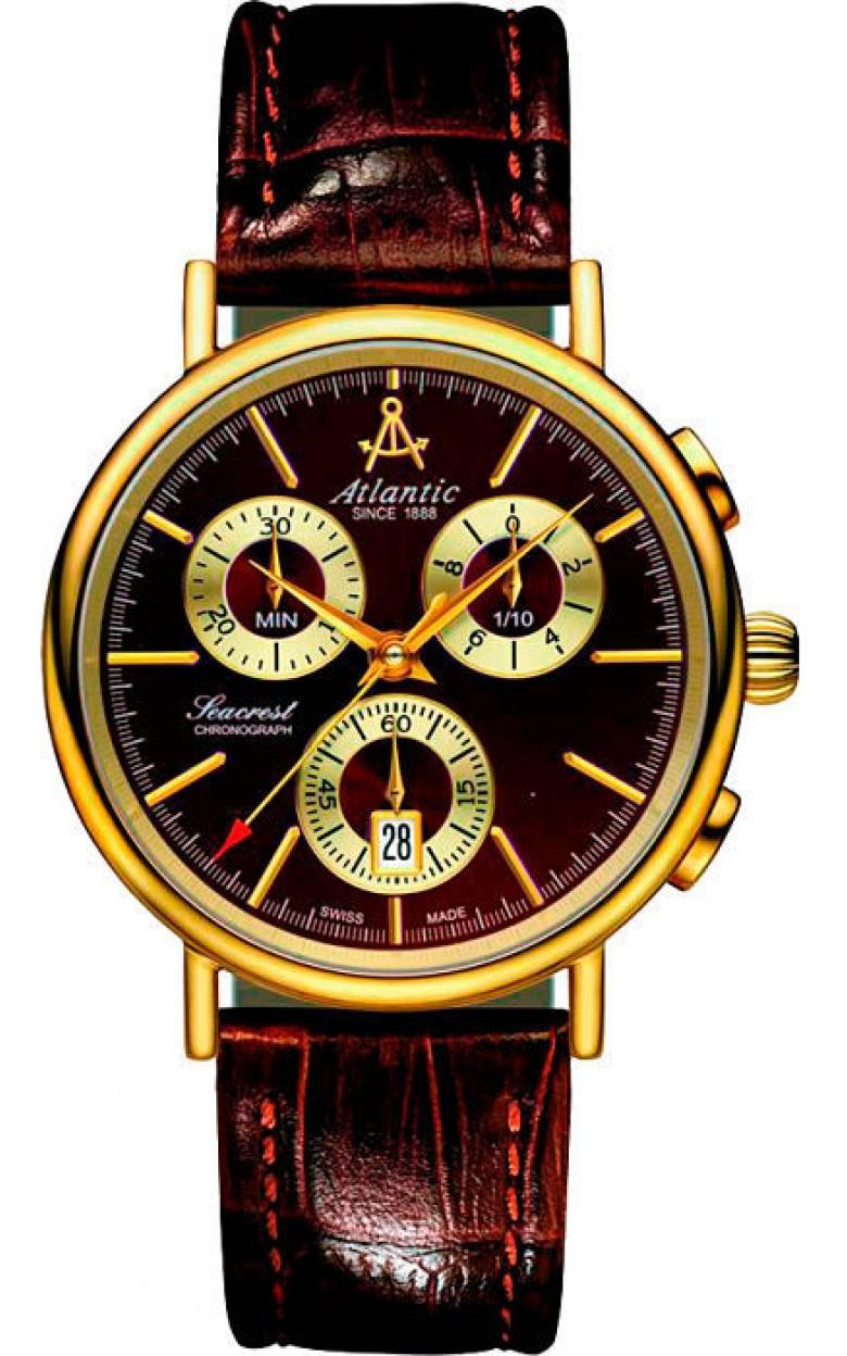 65451.43.31 швейцарские мужские кварцевые часы Atlantic