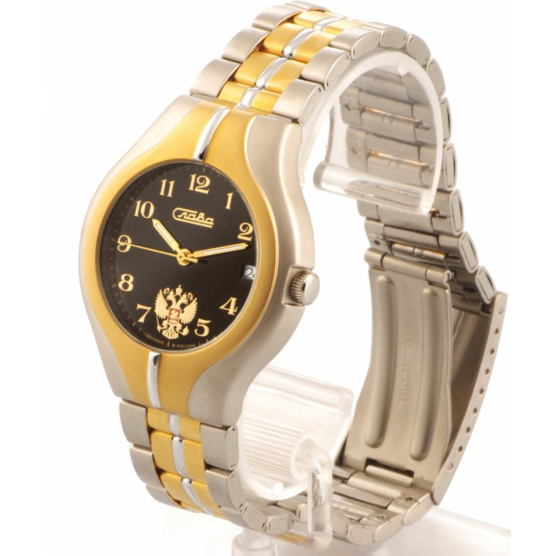 1375674/100-2416 российские мужские механические наручные часы Слава