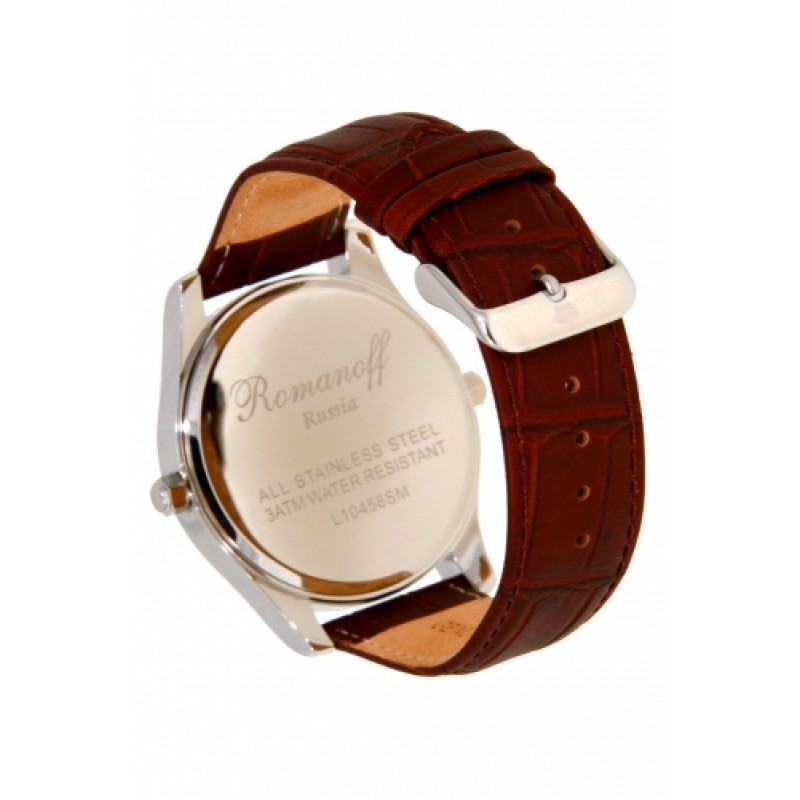 10458G4BL российские кварцевые наручные часы Romanoff  10458G4BL