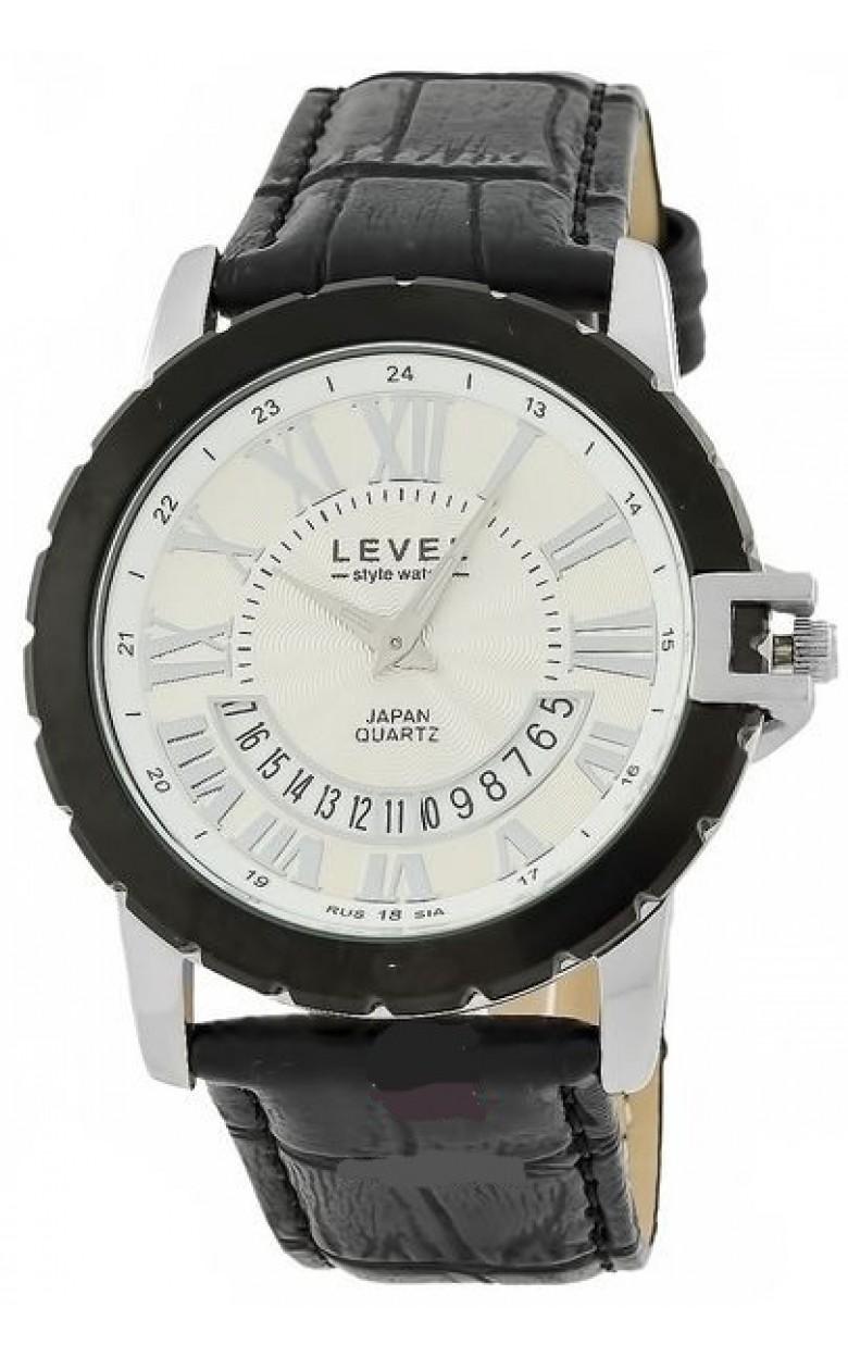 VX3K/3124416 российские мужские кварцевые наручные часы Level  VX3K/3124416