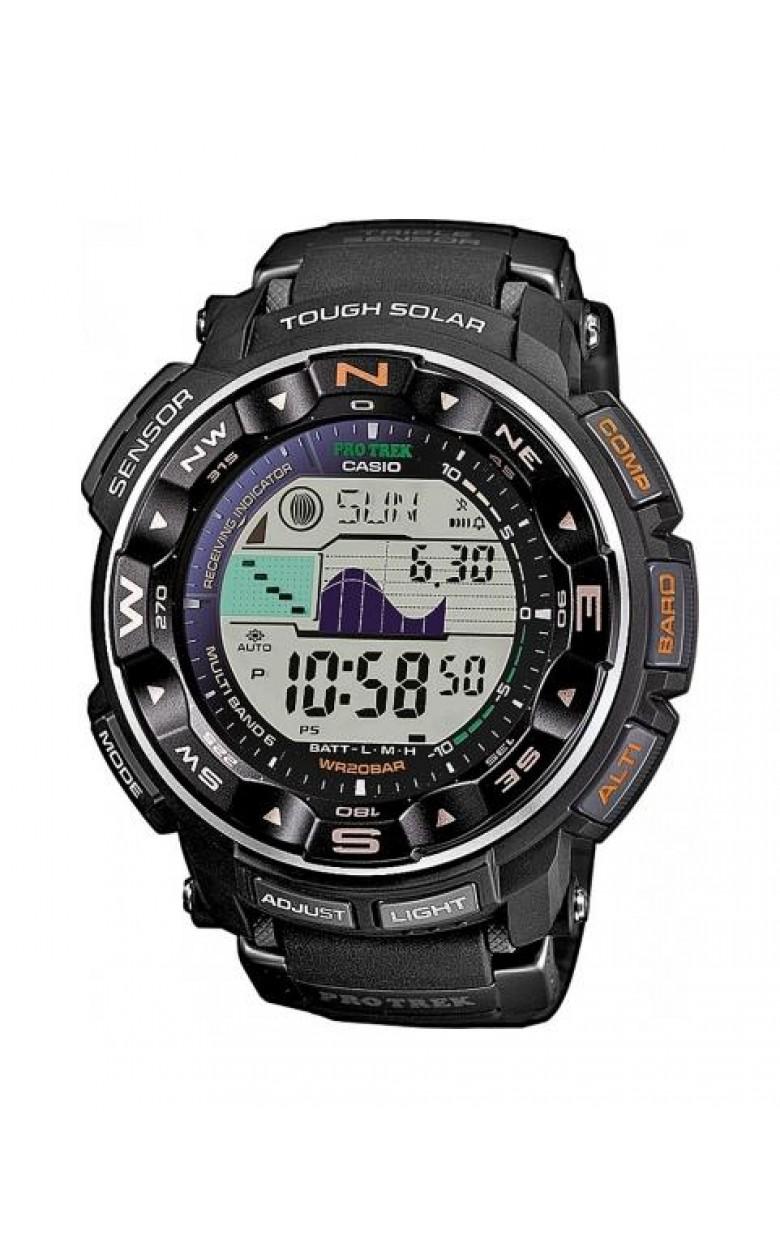 PRG-250-1D японские водонепроницаемые кварцевые наручные часы Casio