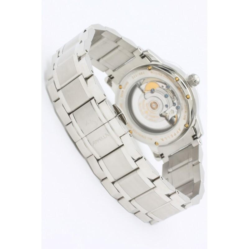 """AM-1011A-3001 швейцарские мужские механические часы Appella """"Mechanical""""  AM-1011A-3001"""