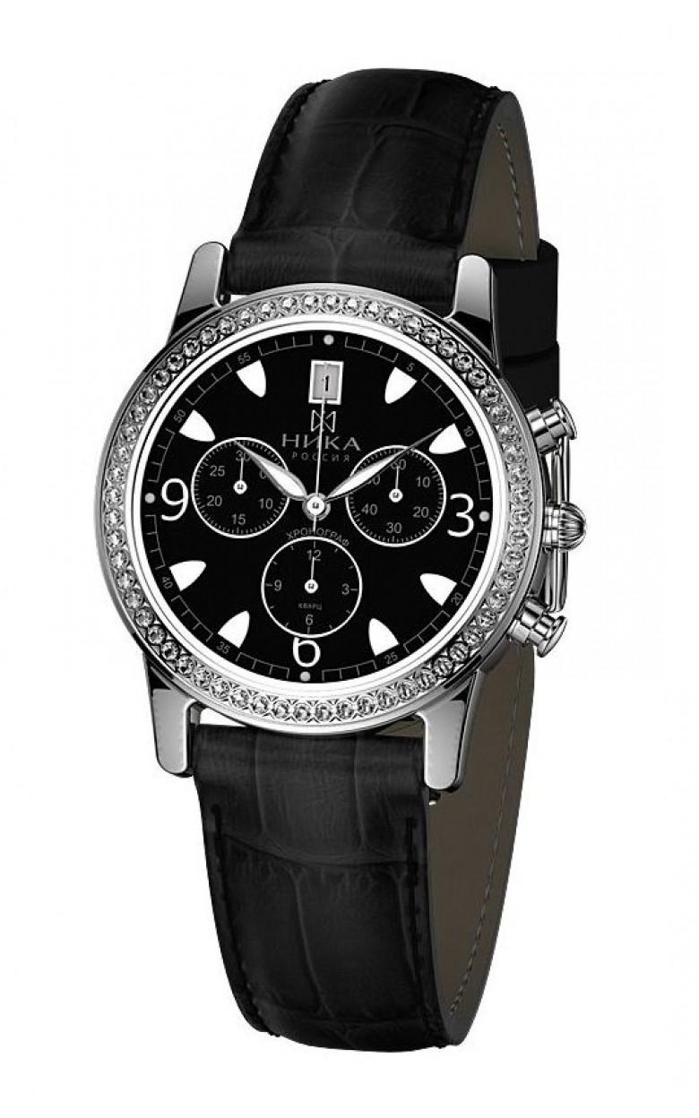 1807.2.9.54Н российские серебряные женские кварцевые часы Ника  1807.2.9.54Н