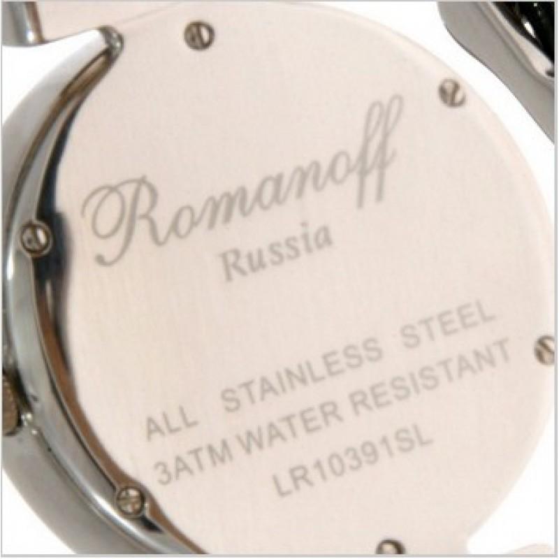 """10391G3BLL российские кварцевые наручные часы Romanoff """"Элеганс"""" для женщин  10391G3BLL"""