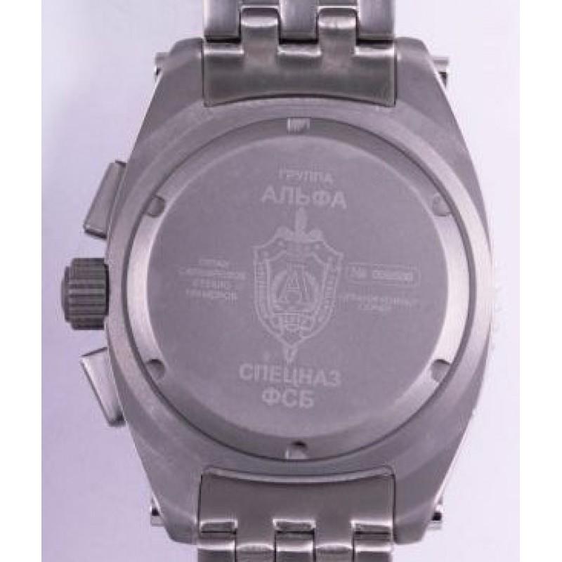 """С1300280-20 Часы наручные """"Спецназ""""  кварцевый хронограф """"Группа А"""""""