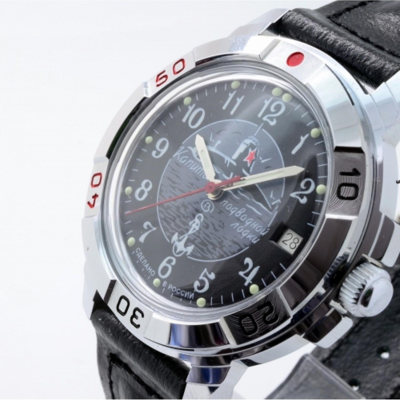 """431831 российские мужские механические наручные часы Восток """"Командирские"""" для военных  431831"""