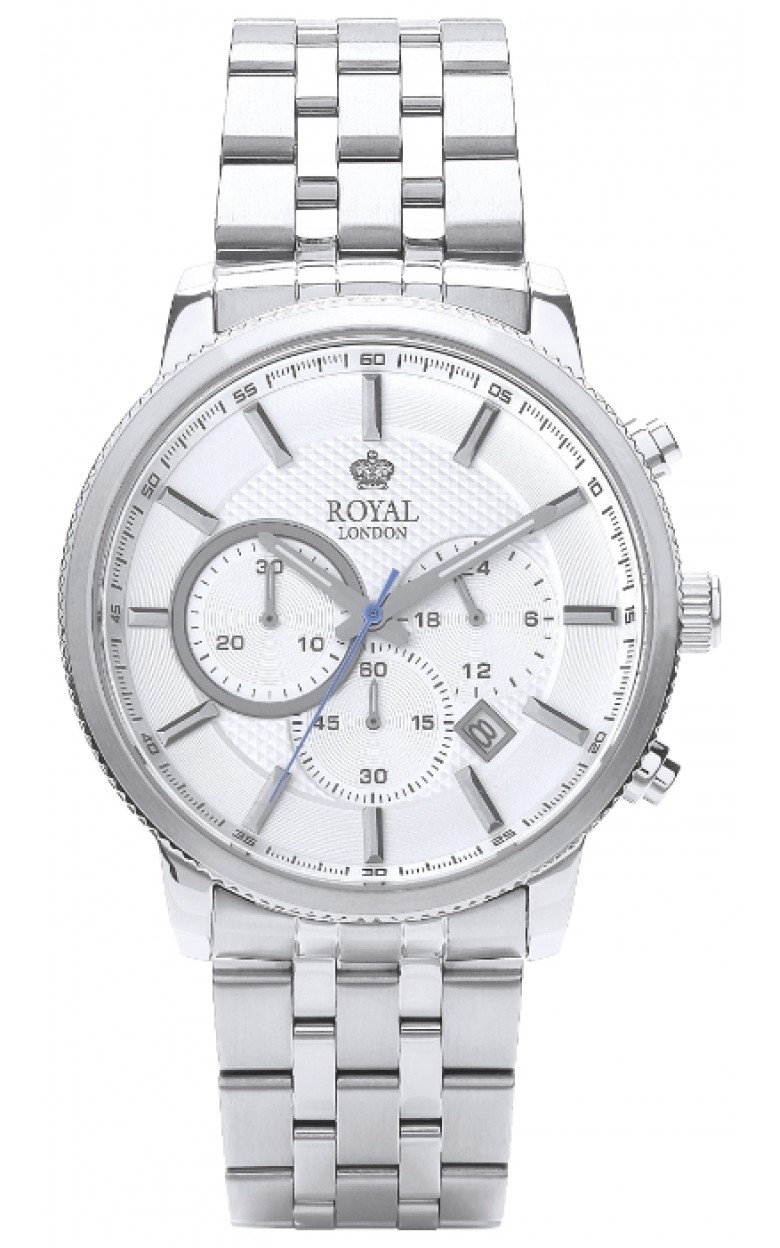 """41279-06_ucenka  кварцевые наручные часы Royal London """"Chronograph""""  41279-06_ucenka"""