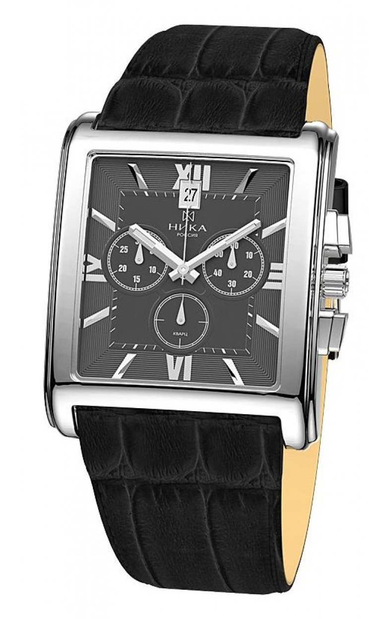 1064.0.9.73Н российские серебрянные мужские наручные часы Ника  1064.0.9.73Н