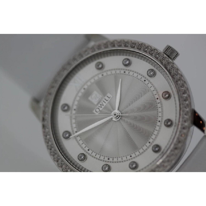 6059.05.14.9.26A российские серебрянные женские кварцевые часы Qwill  6059.05.14.9.26A