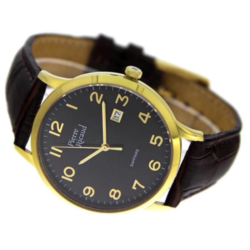 "P91022.1225Q  кварцевые с функциями хронографа часы Pierre Ricaud ""Strap"" с сапфировым стеклом P91022.1225Q"