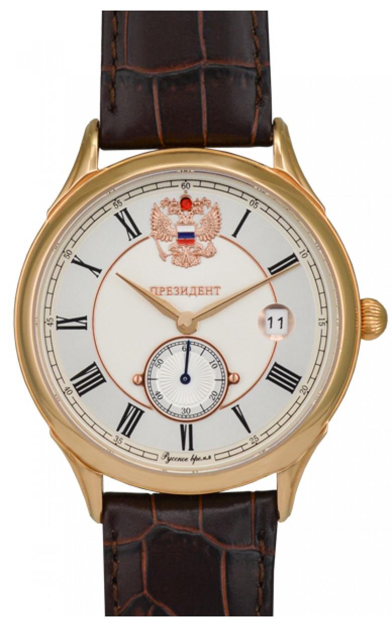 14929202 российские кварцевые наручные часы Президент для мужчин логотип Герб РФ  14929202