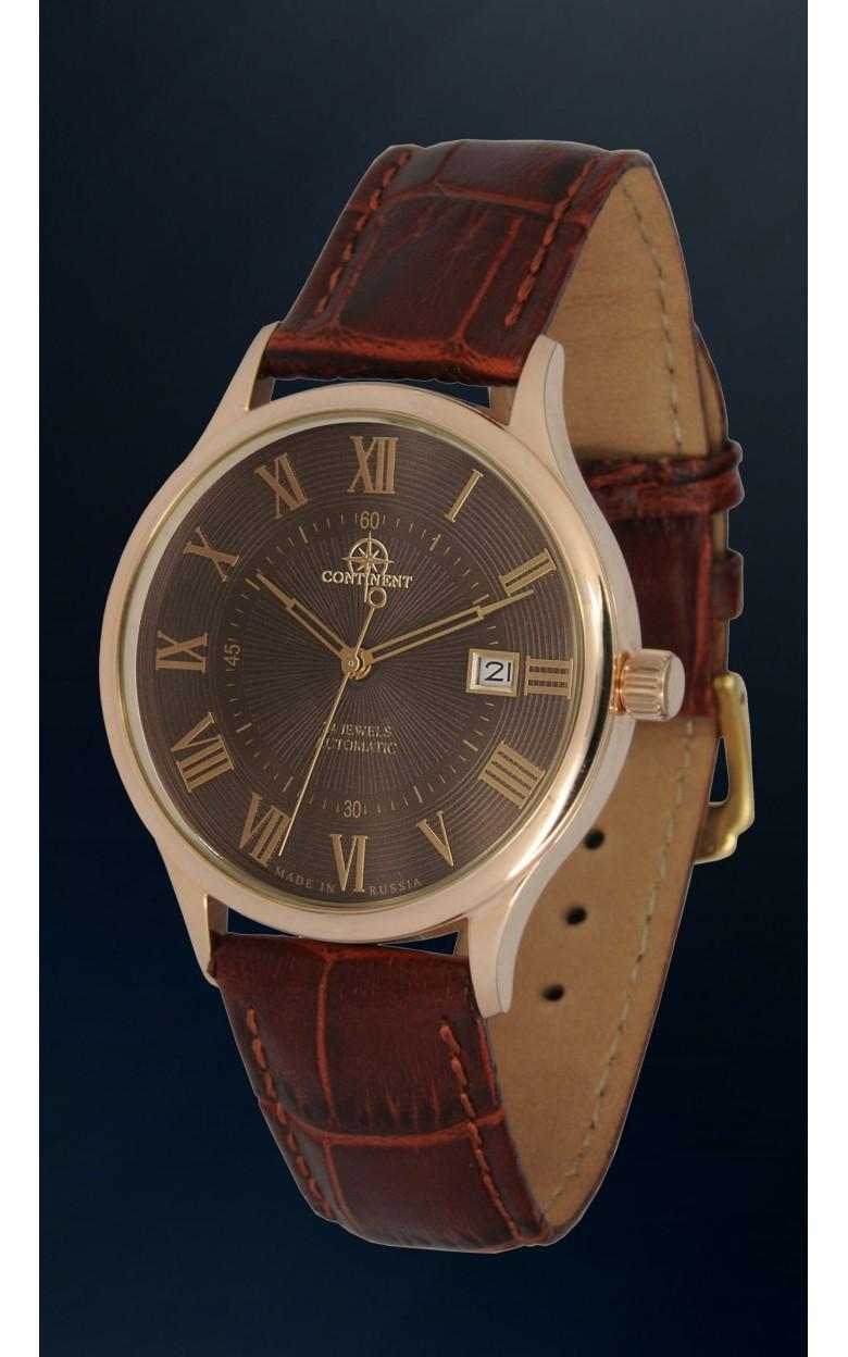 115.4.9015 российские золотые мужские механические часы Continent  115.4.9015