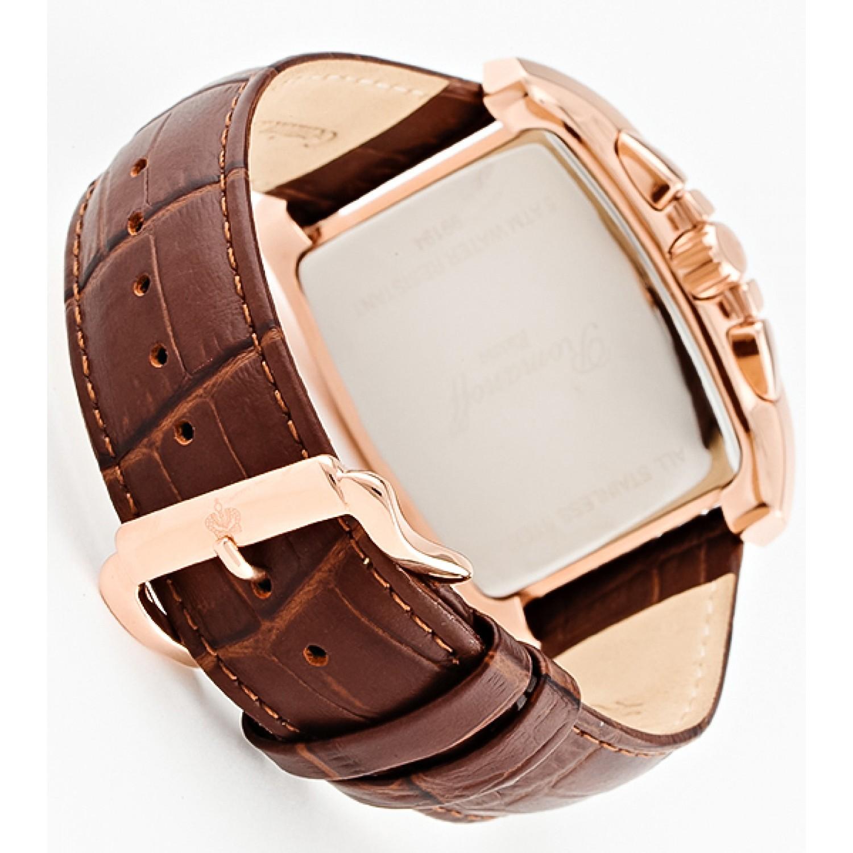 99194B4BR российские мужские кварцевые наручные часы Romanoff  99194B4BR
