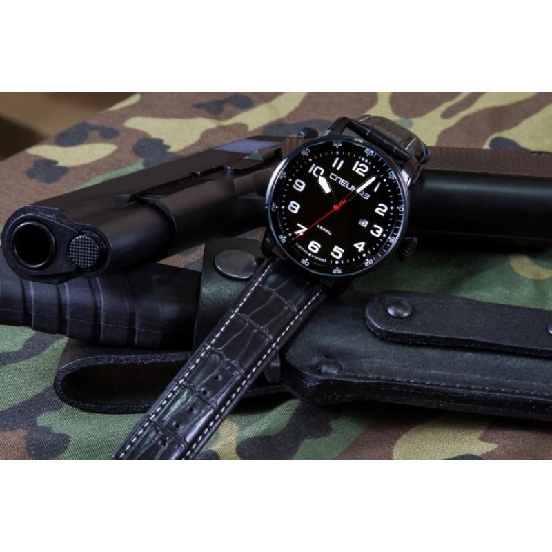 С2871329-2115-05 российские мужские кварцевые наручные часы Спецназ С2871329-2115-05