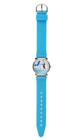 109 голубые кашалоты  кварцевые наручные часы Радуга  109 голубые кашалоты