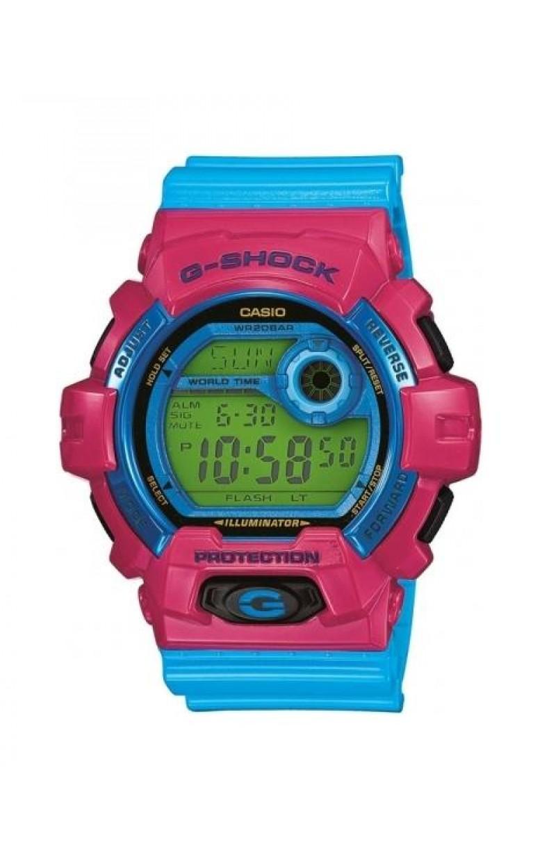 G-8900SC-4E японские водонепроницаемые электронные наручные часы Casio