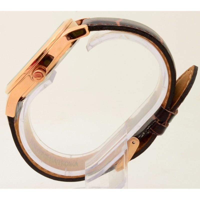"""1313575/2115-300 российские кварцевые наручные часы Слава """"Традиция"""" для мужчин логотип Герб РФ  1313575/2115-300"""