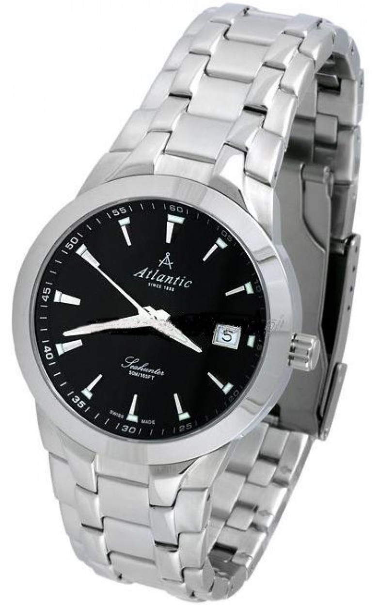 63355.41.61 швейцарские часы Atlantic  63355.41.61