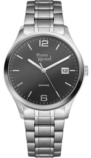 """P91086.5156Q  кварцевые часы Pierre Ricaud """"Bracelet"""" с сапфировым стеклом P91086.5156Q"""