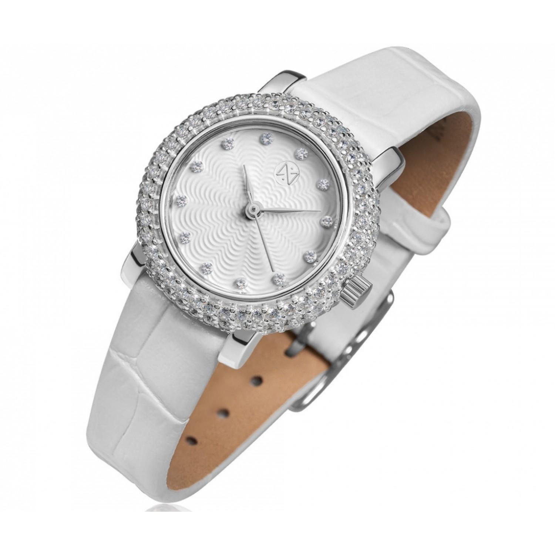 0008.2.9.16A российские серебрянные кварцевые наручные часы Ника