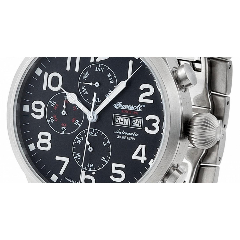 IN1601BK  механические наручные часы Ingersoll