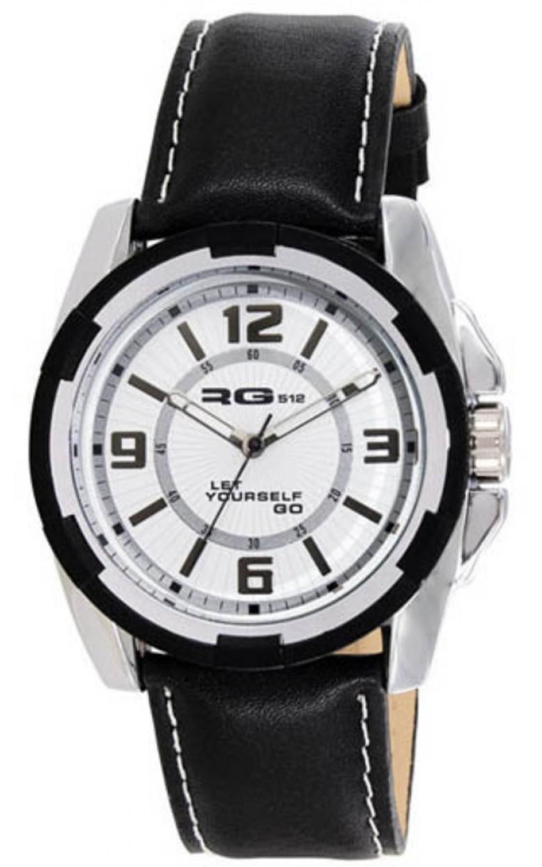 """G50841-201  мужские кварцевые часы RG512 """"Leather Line""""  G50841-201"""
