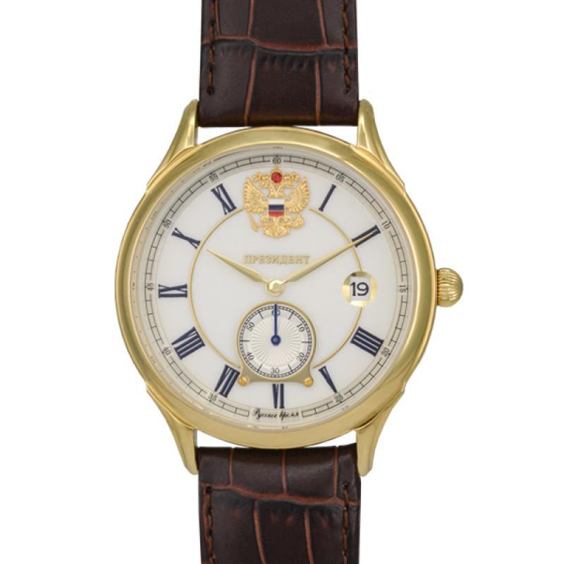 14926202 российские наручные часы Президент для мужчин логотип Герб РФ  14926202