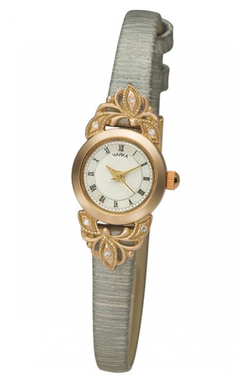 44130-456.217 российские золотые кварцевые наручные часы Platinor для женщин  44130-456.217