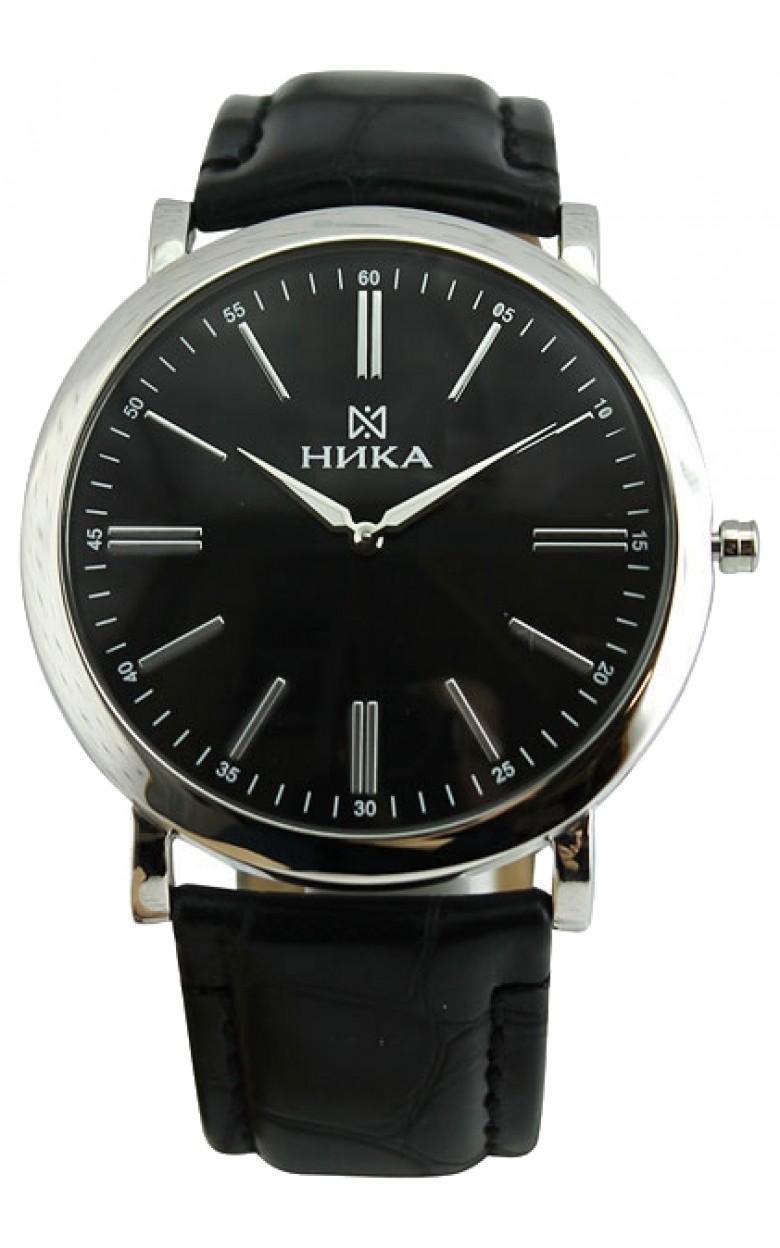 0100.0.9.55B российские серебрянные мужские кварцевые наручные часы Ника