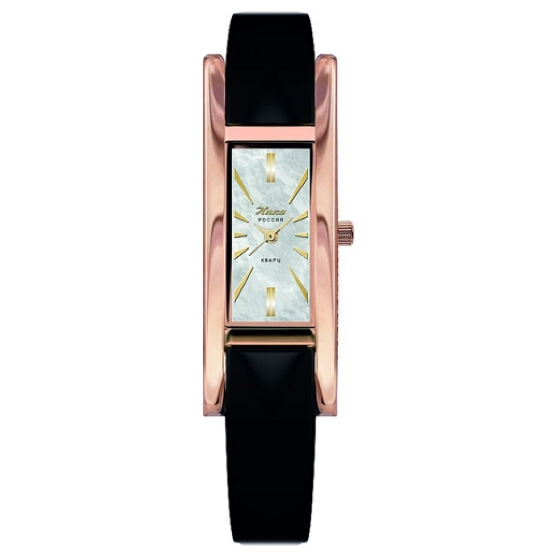 """0445.0.1.35Н российские золотые кварцевые наручные часы Ника """"Lady"""" для женщин  0445.0.1.35Н"""