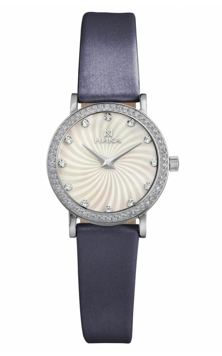 0102.2.9.36A российские серебрянные кварцевые наручные часы Ника
