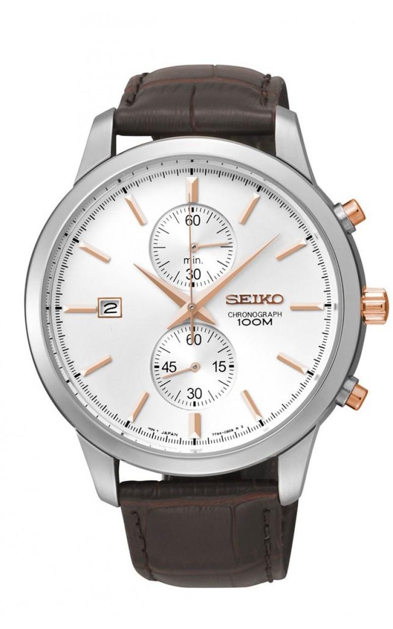SNN277P1 японские мужские кварцевые наручные часы Seiko