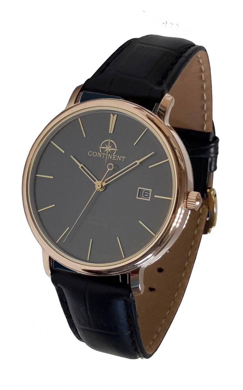 124.3.9015 российские золотые механические наручные часы Continent для мужчин  124.3.9015