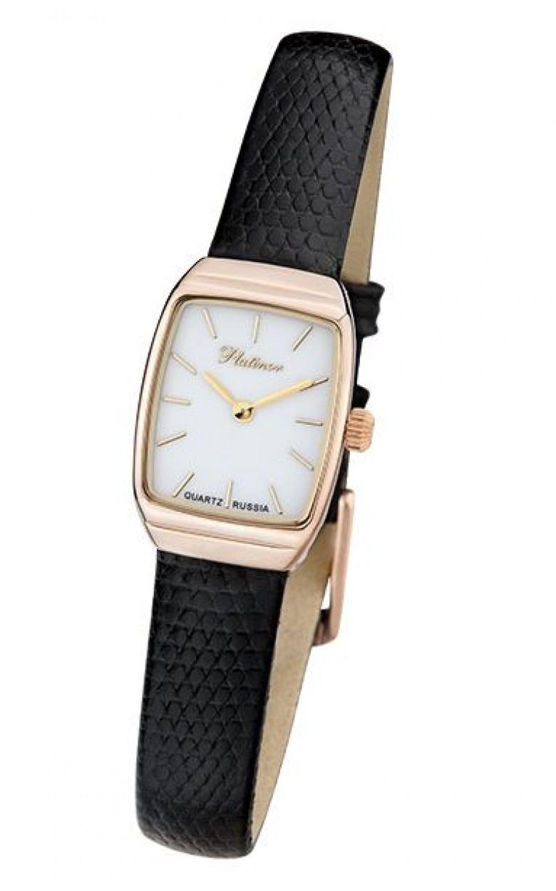 25350.103 Часы наручные кварцевые Эстелла женские золото 585*