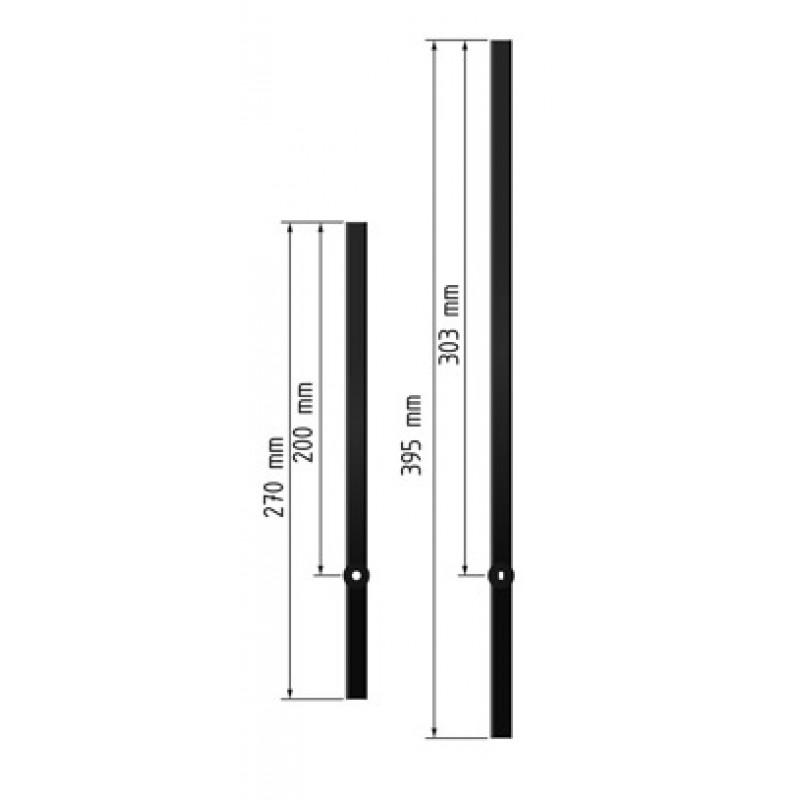 ЧМ-СВ-200/303 Комплект стрелок к механизму МДХ-СВ с длиной штока 17(23)мм ЧМ-СВ-200/303