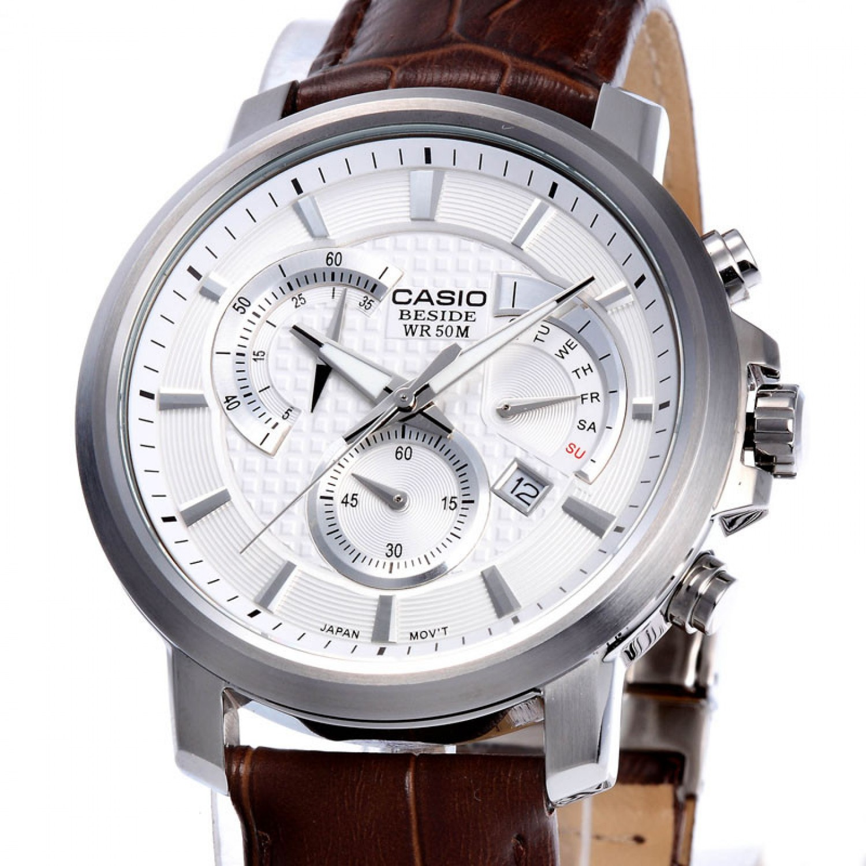 BEM-506L-7A японские кварцевые наручные часы Casio для мужчин  BEM-506L-7A