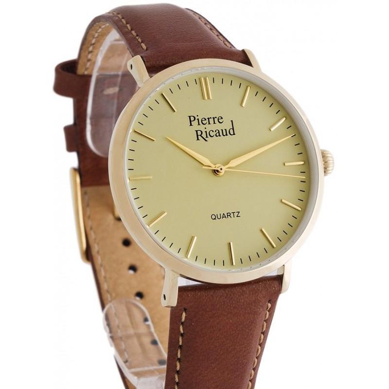 "P91074.1B11Q  кварцевые с функциями хронографа часы Pierre Ricaud ""Strap""  P91074.1B11Q"