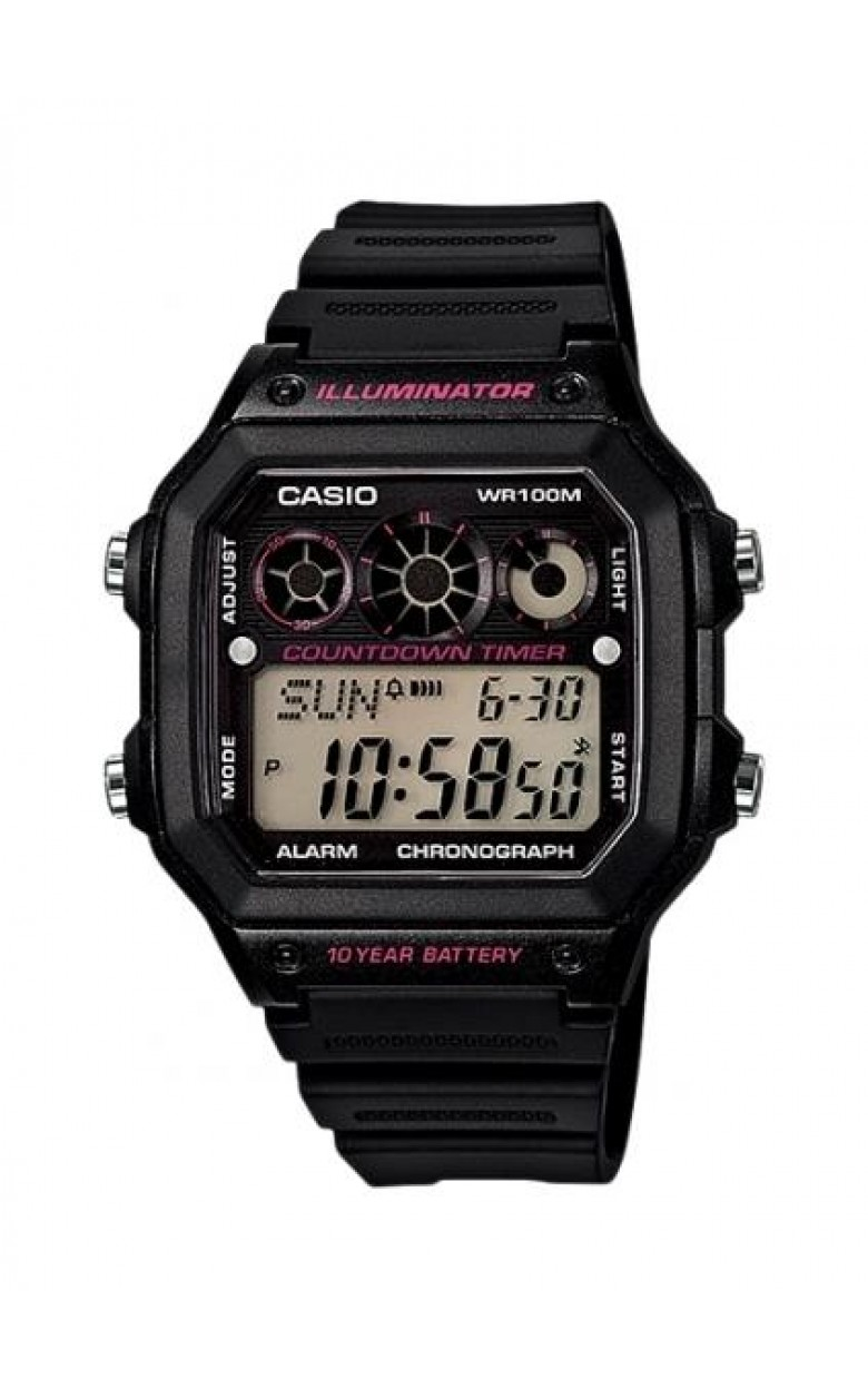 Casio ILLUMINATOR популярны среди спортсменов