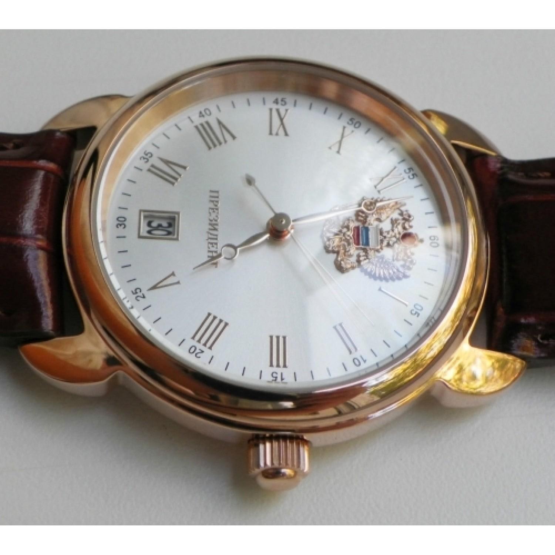 4079682 российские кварцевые наручные часы Президент