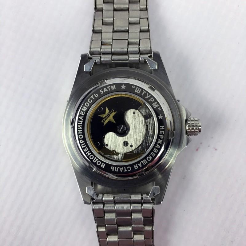 С8211184-1612 Часы наручные Спецназ с автоподзаводом