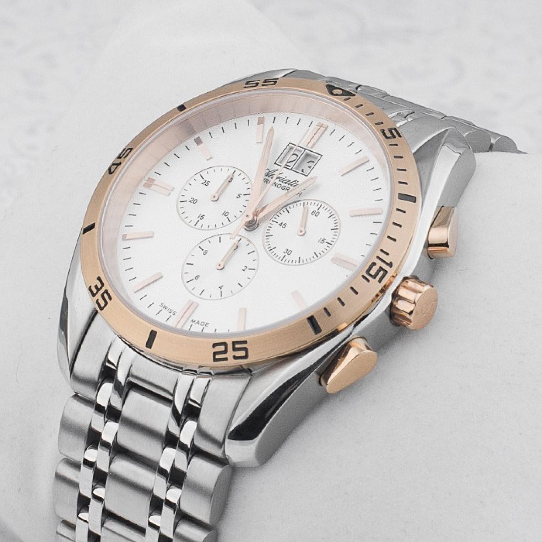 """A8202.R113CH швейцарские кварцевые наручные часы Adriatica """"CHRONOGRAF"""" для мужчин  A8202.R113CH"""
