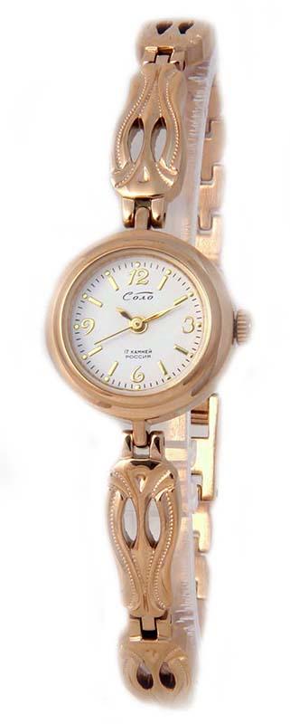 """1509В.1С/03138322  механические наручные часы Соло """"Заря-Соло""""  1509В.1С/03138322"""