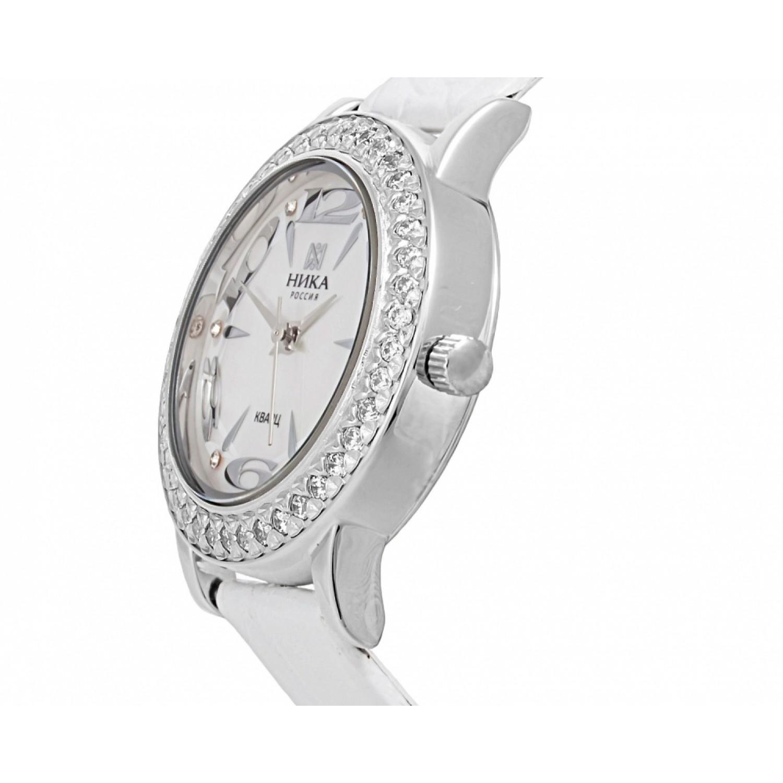 1801.2.9.34Н российские серебрянные женские кварцевые часы Ника