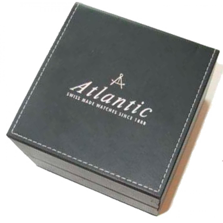 65451.45.61 швейцарские мужские кварцевые наручные часы Atlantic  65451.45.61