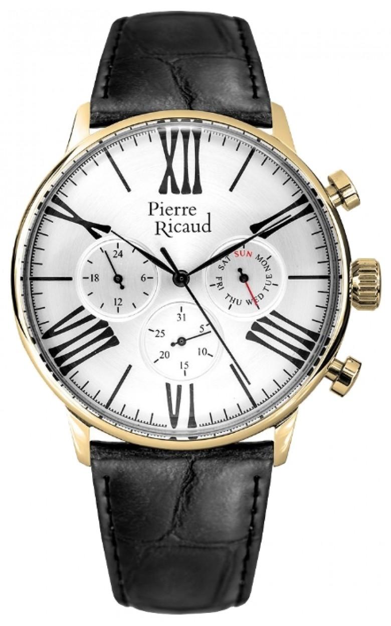 P97212.1263QF  мужские кварцевые наручные часы Pierre Ricaud