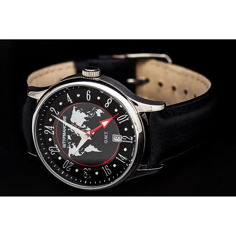 51524/3301803 российские мужские кварцевые наручные часы Штурманские