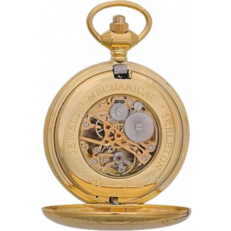 2136896 российские универсальные механические карманные часы Русское время  2136896